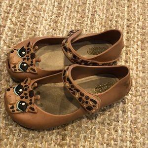 Mini Melissa giraffe shoes